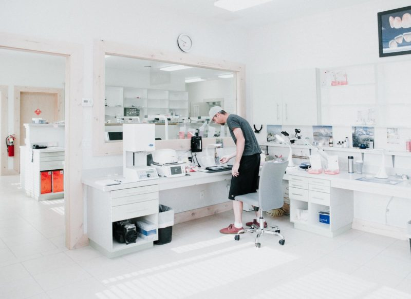 Stomadent Lab Inside Environment