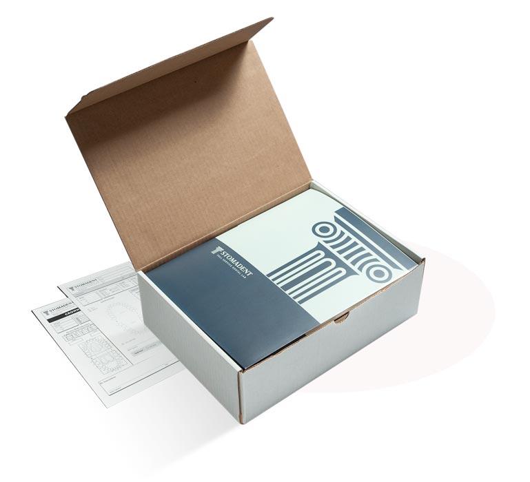 Stomadent Kit Box