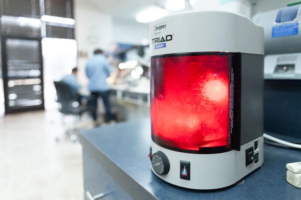 Eclipse Denture Machine at Stomadent Lab