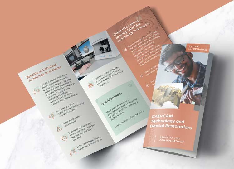 CAD/CAM Restorations - Patient Marketing Brochure