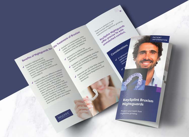 Keyspling Bruxism Nightguards - Patient Marketing Brochure