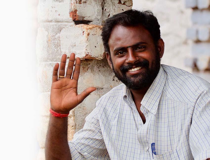 Veneer Indian Man